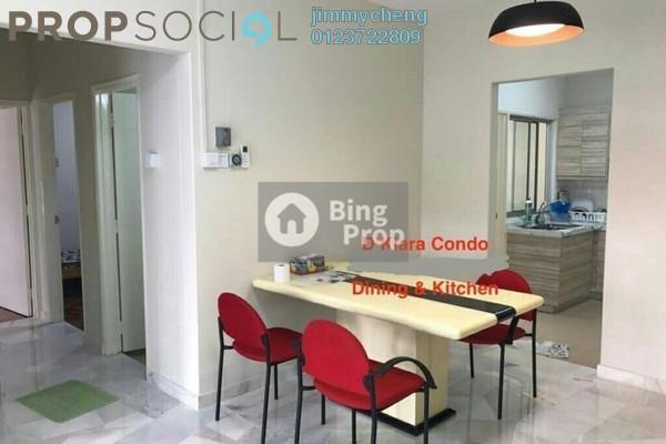 For Rent Apartment at D'Kiara Apartment, Pusat Bandar Puchong Freehold Fully Furnished 3R/2B 1.5k