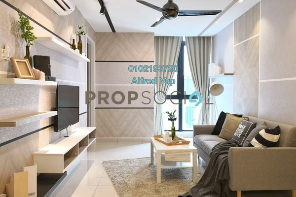 For Rent Condominium at H2O Residences, Ara Damansara Freehold Fully Furnished 2R/2B 2.8k
