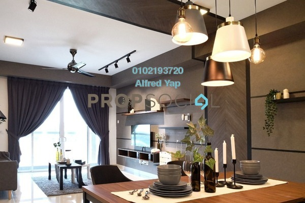 For Rent Condominium at Temasya 8, Temasya Glenmarie Freehold Fully Furnished 2R/2B 2.7k