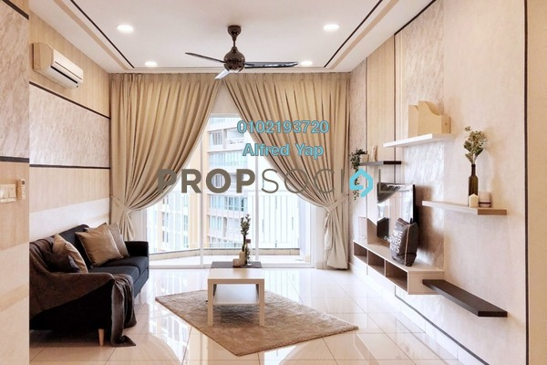 For Rent Condominium at Subang Olives, Subang Jaya Freehold Fully Furnished 2R/2B 2.5k