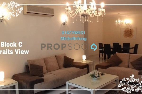 For Rent Condominium at Straits View Condominium, Bandar Baru Permas Jaya Freehold Fully Furnished 3R/3B 2.2k