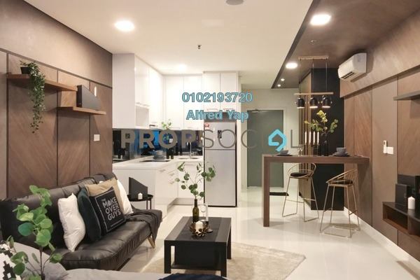 For Rent Condominium at Summer Suites, KLCC Freehold Fully Furnished 0R/0B 2.5k