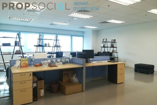 For Rent Office at KL Eco City, Mid Valley City Freehold Semi Furnished 0R/0B 2.5k