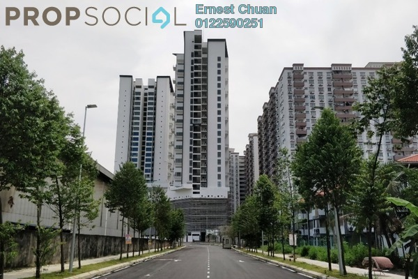 For Sale Condominium at The Andes, Bukit Jalil Freehold Unfurnished 3R/2B 608k