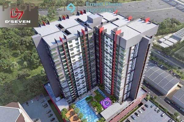 For Sale Condominium at D'Seven Lagoon Perdana, Bandar Sunway Leasehold Unfurnished 3R/2B 471k