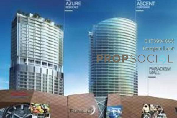For Sale Serviced Residence at The Azure Residences, Kelana Jaya Freehold Semi Furnished 1R/1B 760k