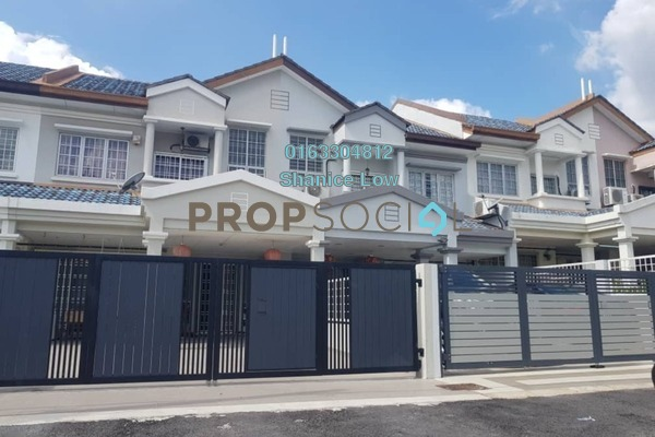 For Rent Terrace at BP10, Bandar Bukit Puchong Freehold Semi Furnished 4R/3B 670k
