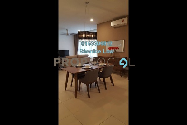 For Rent Condominium at KL Gateway, Bangsar South Freehold Fully Furnished 3R/3B 4.8k