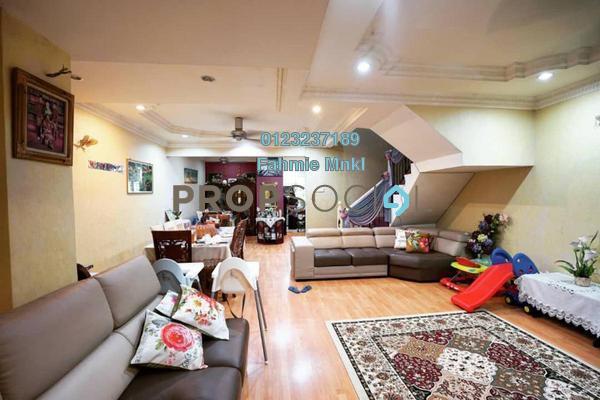 For Sale Terrace at Taman Keramat, Setiawangsa Freehold Semi Furnished 4R/3B 860k