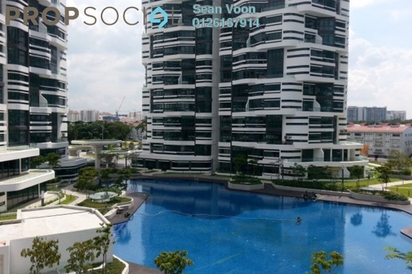 For Rent Serviced Residence at AraGreens Residences, Ara Damansara Freehold Semi Furnished 4R/3B 2.8k
