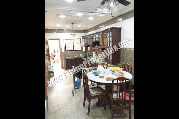 For Sale Terrace at Taman Teluk Pulai, Klang Freehold Fully Furnished 4R/2B 428k