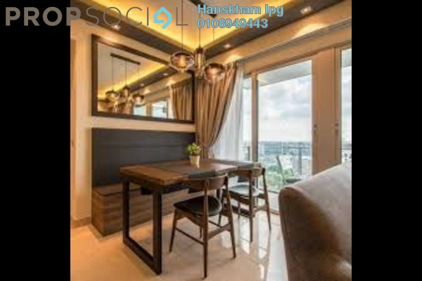 For Sale Condominium at Residensi Berlian, Setapak Freehold Semi Furnished 4R/3B 735k