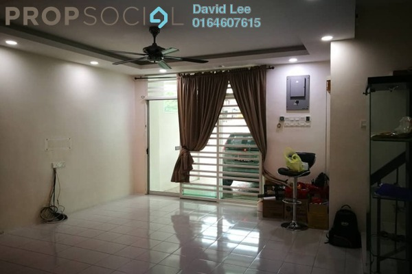 For Sale Terrace at Bukit Gelugor, Gelugor Freehold Fully Furnished 4R/3B 950k