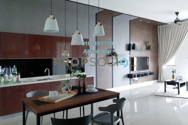 For Rent Condominium at Isle of Kamares @ Setia Eco Glades, Cyberjaya Freehold Fully Furnished 3R/2B 3.3k