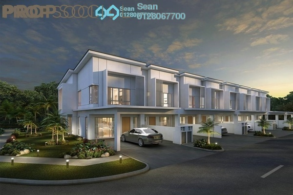 For Sale Superlink at Suriaman 2B, Bandar Sri Sendayan Freehold Unfurnished 4R/4B 659k