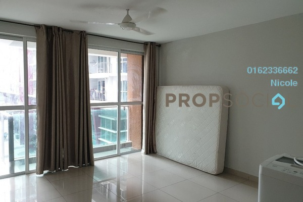 For Rent Condominium at Pacific Place, Ara Damansara Freehold Semi Furnished 2R/1B 1.4k