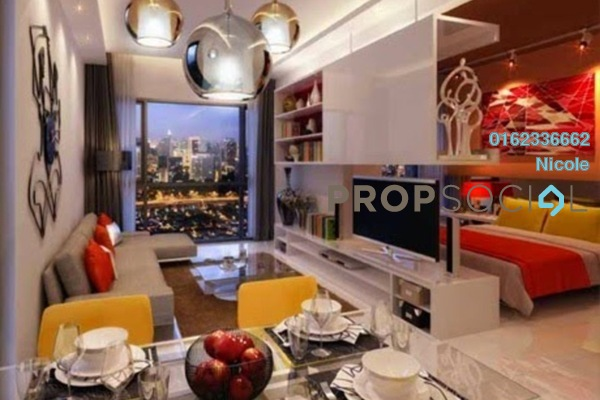 For Rent Condominium at Cyperus Serviced Residence @ Tropicana Gardens, Kota Damansara Freehold Fully Furnished 1R/1B 2.3k