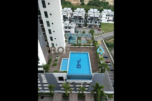 For Sale Condominium at USJ One Park, UEP Subang Jaya Leasehold Semi Furnished 2R/2B 480k