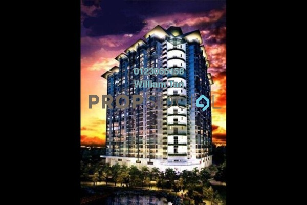 For Sale Condominium at V'Residence, Cyberjaya Leasehold Unfurnished 3R/2B 380k