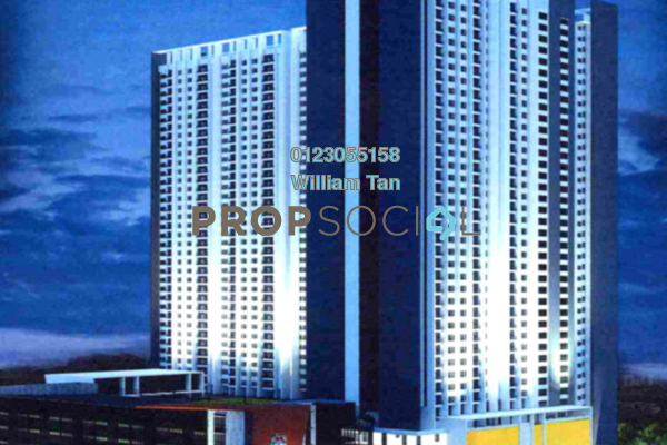 For Sale Condominium at Residensi Inspiria, Setapak Freehold Unfurnished 3R/2B 265k