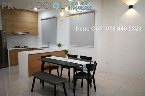 For Rent Condominium at The Clovers, Sungai Ara Freehold Fully Furnished 3R/2B 2k