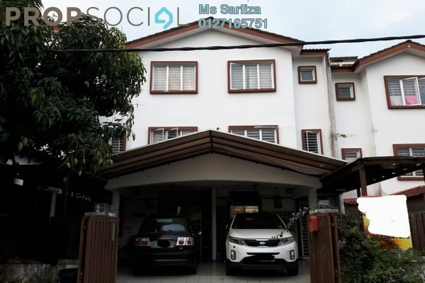 For Sale Terrace at Taman Bukit Permata, Batu Caves Freehold Semi Furnished 4R/3B 520k