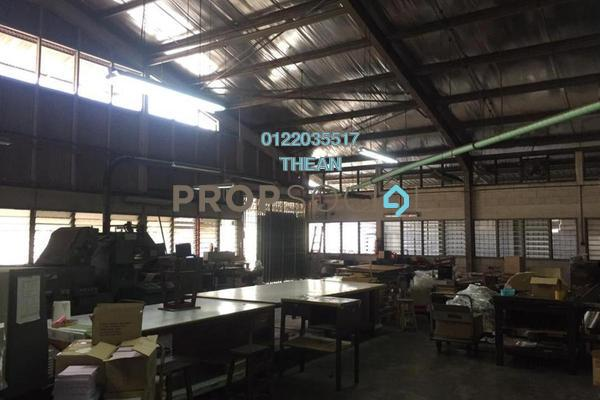For Sale Factory at Section 16, Shah Alam Freehold Semi Furnished 0R/0B 4.5m