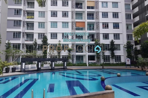 For Rent Serviced Residence at Austin Suites, Tebrau Freehold Semi Furnished 3R/2B 1.6k