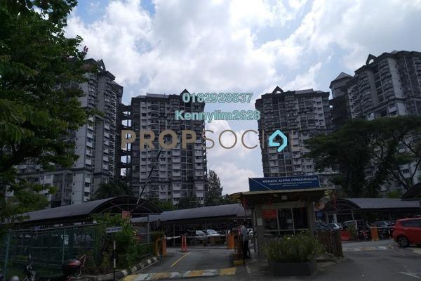 For Sale Condominium at Menara Alpha, Wangsa Maju Leasehold Semi Furnished 3R/2B 380k