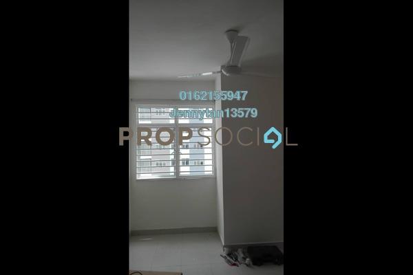 For Rent Condominium at Residensi Pandanmas 2, Pandan Indah Freehold Semi Furnished 3R/2B 1.1k