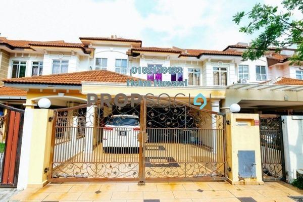 For Sale Terrace at BP14, Bandar Bukit Puchong Freehold Semi Furnished 4R/3B 755k