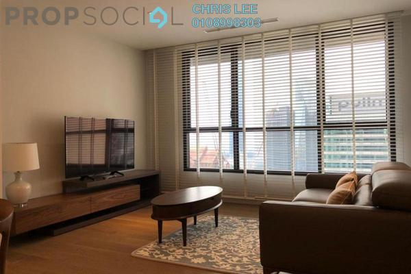 For Rent Condominium at The Ruma, KLCC Freehold Fully Furnished 2R/2B 7k