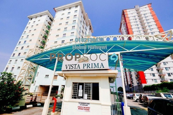 For Sale Condominium at Vista Prima, Puchong Freehold Semi Furnished 3R/2B 290k