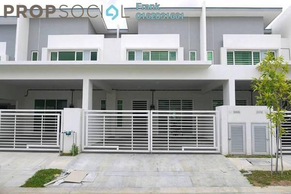 For Rent Terrace at Cogan, Bandar Bukit Raja Freehold Unfurnished 4R/3B 1.25k