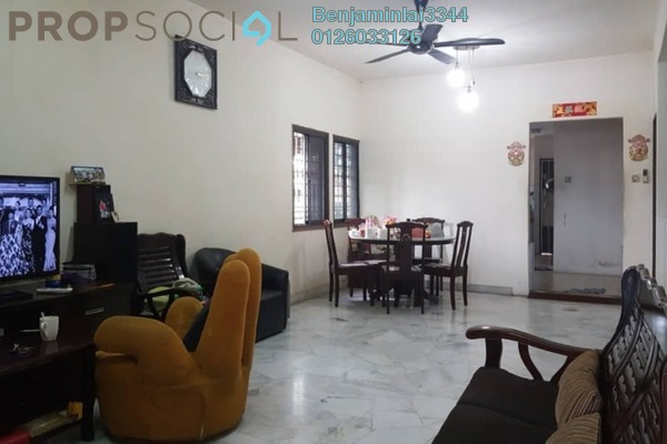 For Sale Terrace at Taman Bukit Maluri, Kepong Freehold Semi Furnished 4R/3B 1.15m