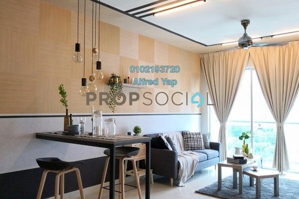 For Rent Condominium at Solaris Dutamas, Dutamas Freehold Fully Furnished 1R/1B 2.8k