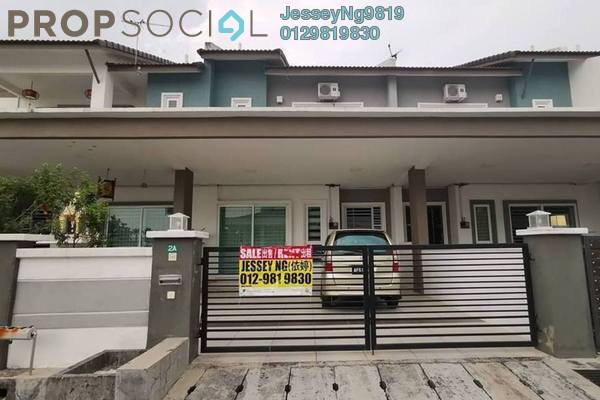 For Sale Terrace at Bandar Seri Botani, Ipoh Freehold Semi Furnished 4R/3B 495k
