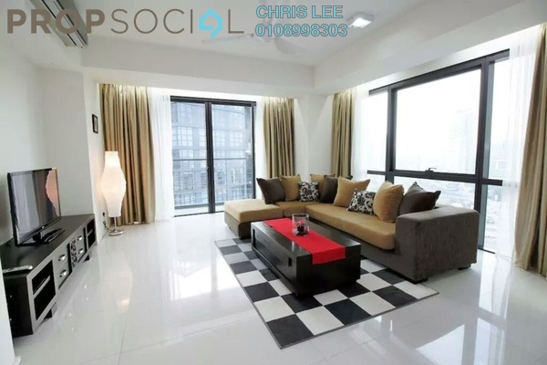 For Rent Condominium at Hampshire Place, KLCC Freehold Fully Furnished 2R/2B 7k