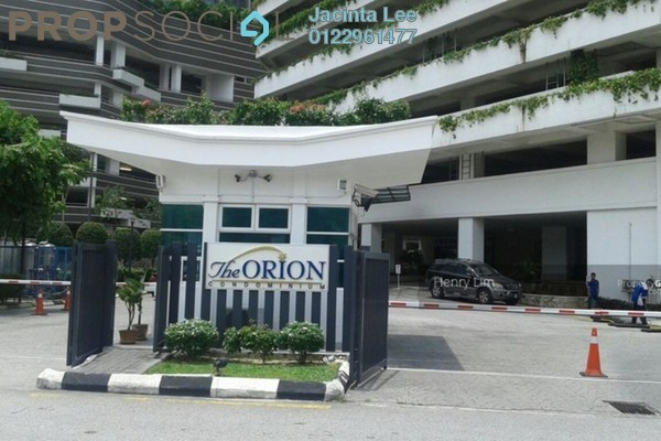 For Sale Condominium at The Orion, KLCC Freehold Semi Furnished 3R/3B 648k