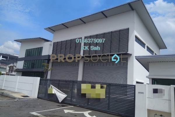 For Sale Factory at Section 34, Shah Alam Freehold Unfurnished 2R/4B 4.9m