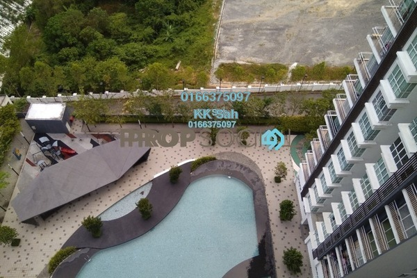 For Rent Condominium at The iResidence, Bandar Mahkota Cheras Freehold Fully Furnished 3R/2B 1.5k
