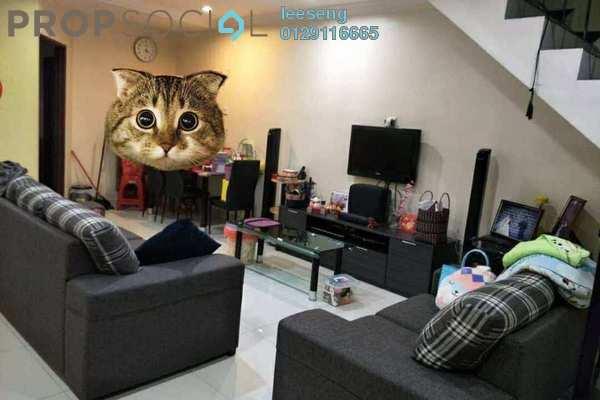 For Sale Terrace at Taman Sentosa Perdana, Klang Freehold Semi Furnished 3R/2B 319k