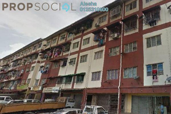 For Sale Apartment at Taman Balakong Jaya, Balakong Freehold Unfurnished 0R/0B 60k