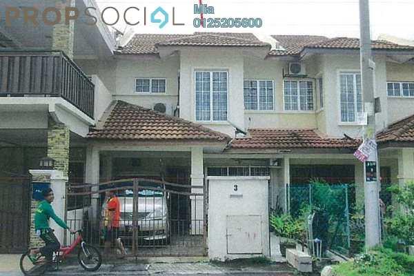 For Sale Terrace at Seksyen 3, Bandar Baru Bangi Leasehold Unfurnished 0R/0B 500k