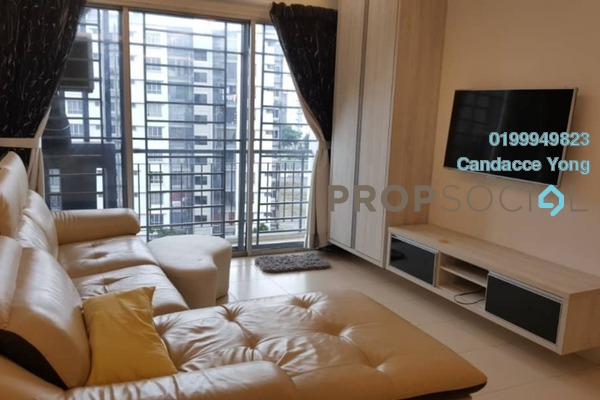 For Sale Apartment at Seri Kasturi, Setia Alam Freehold Semi Furnished 3R/2B 380k