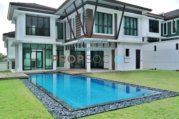 For Sale Bungalow at Rimba Edge, Kemensah Freehold Semi Furnished 7R/6B 4.8m
