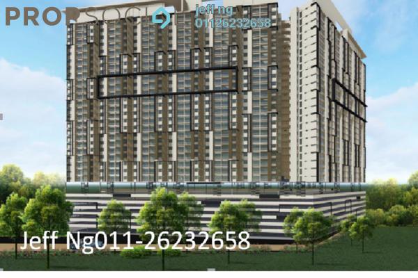 For Sale Condominium at Residensi Platinum Teratai, Kuala Lumpur Freehold Semi Furnished 3R/2B 400k