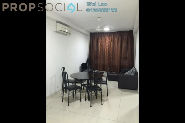 For Rent Condominium at Centrestage, Petaling Jaya Freehold Fully Furnished 2R/1B 1.6k