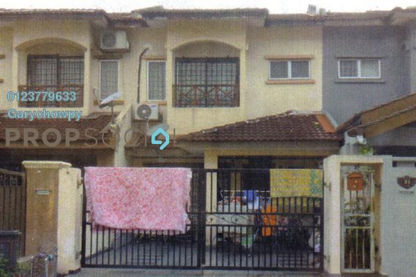 For Sale Terrace at Taman Puncak Jalil, Bandar Putra Permai Freehold Semi Furnished 4R/3B 437k