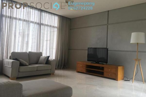 For Rent Condominium at The Troika, KLCC Freehold Semi Furnished 3R/5B 9k
